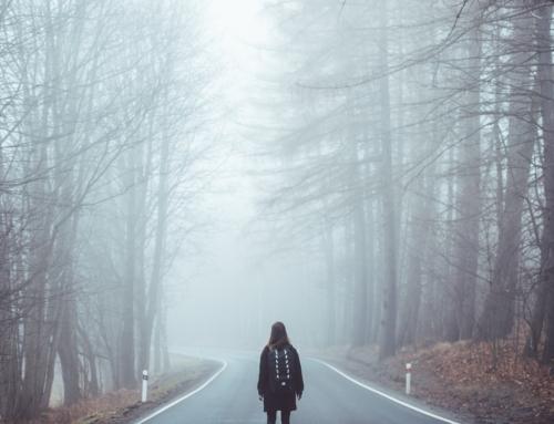 Lass die Angst kein Wegweiser deines Lebens sein